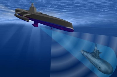 Raytheon supplies sonar for DARPA's anti-submarine warfare program