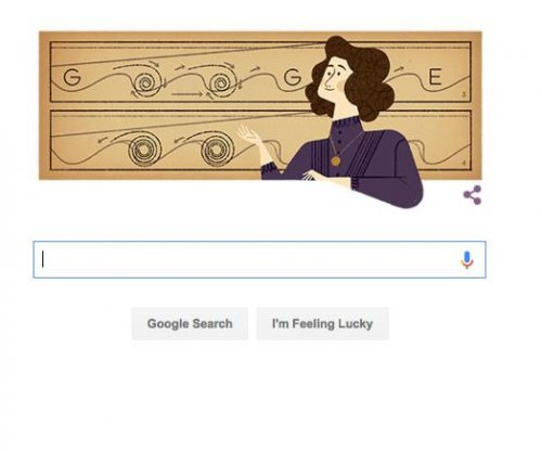 Google Doodle marks 162nd birthday of Hertha Marks Ayrton