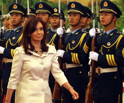 Ex-Argentine leader Kirchner charged, $633M frozen in corruption case