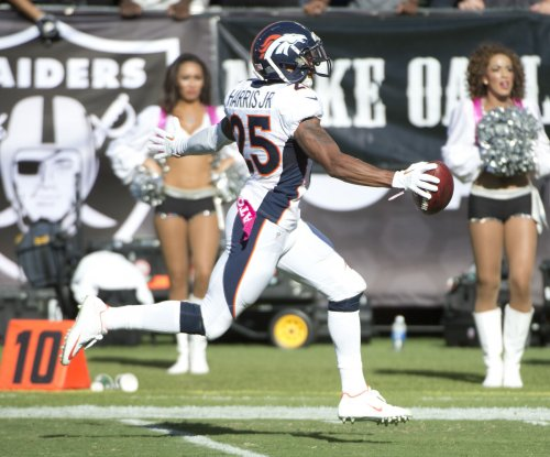 Report: Broncos add $3M in incentives to Harris' contract