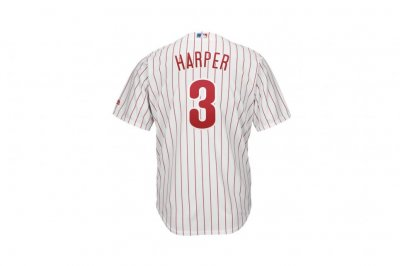 Opening Day: Phillies' Bryce Harper has MLB's most popular jersey
