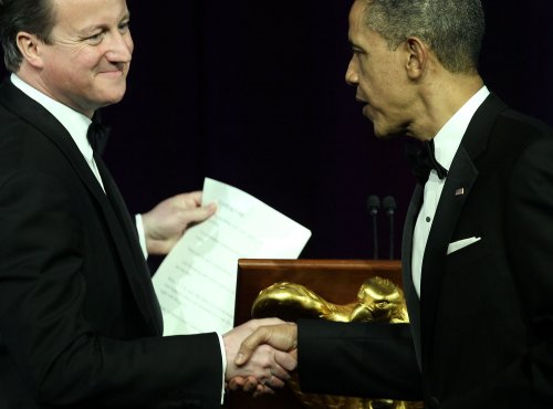 Cameron praises Obama at state dinner