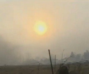 Winds expand Nevada wildfire