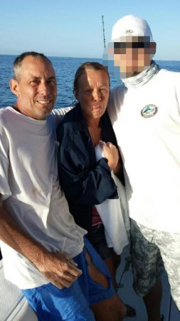 Pair rescued after treading 14 hours in Florida waters
