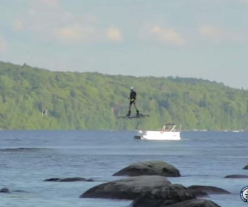 Canadian inventor's hoverboard flight sets record