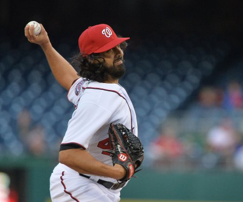 Gio Gonzalez pitches Washington Nationals past San Francisco Giants