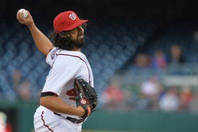 Gio Gonzalez pitches Washington Nationals past San Francisco Giants