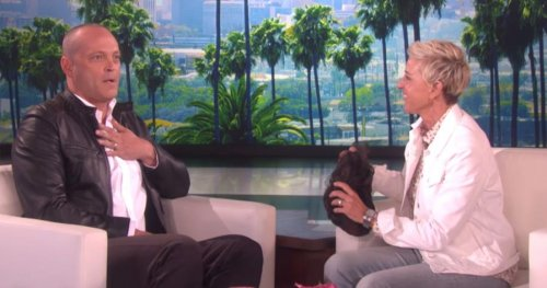 Vince Vaughn shows off new shaved head look on 'Ellen'