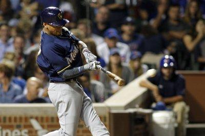 Eight-run second propels Milwaukee Brewers to win over Philadelphia Phillies