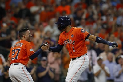 AL Division Series: Carlos Correa slugs Houston Astros to rout of Boston Red Sox in Game 2