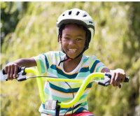 Bike-linked head injuries plummet for kids, but not adults
