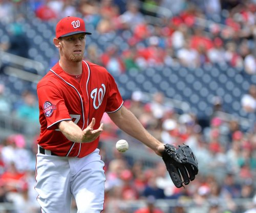 Washington Nationals' Strasburg leaves start early