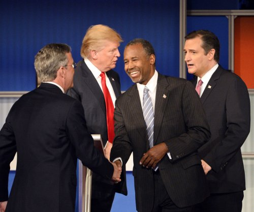 Less crowded stage fires up GOP debate