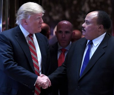 Trump meets with Martin Luther King III to discuss voting rights, race relations