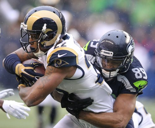 Los Angeles Rams' Trumaine Johnson shows up for second week of OTAs
