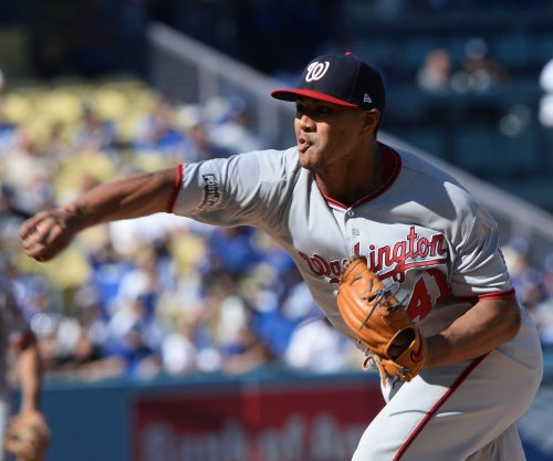 Washington Nationals pitcher Joe Ross leaves game in fourth inning