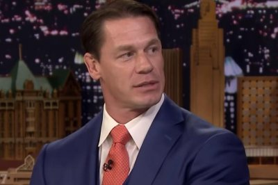 John Cena performs new finishing move on 'Tonight Show'