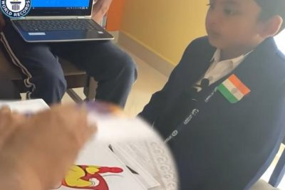 Boy, 5, identifies 50 cartoon characters in 1 minute for world record