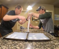 Idaho men stack 47 bars of soap for Guinness World Record