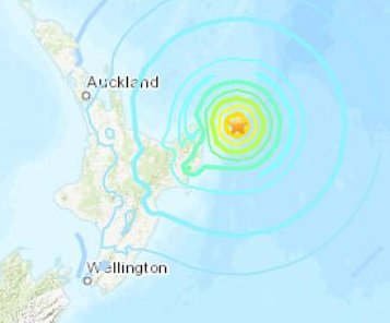 7.3-magnitude quake prompts tsunami warning in New Zealand