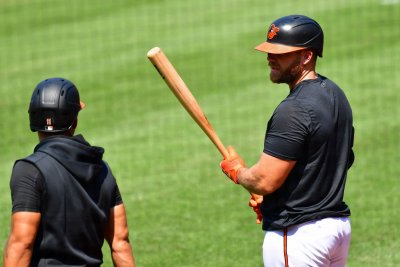 Baltimore Orioles' Chris Davis out for rest of season after hip surgery