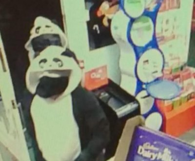 Robbers in Panda onesies target English convenience store