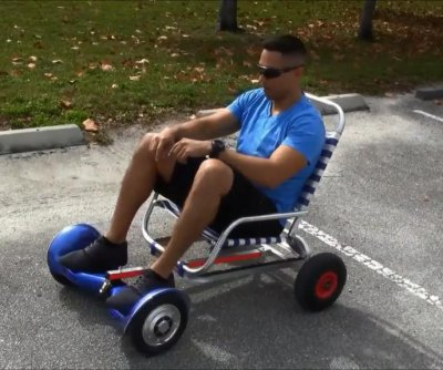 'Hoverseat' transforms hoverboards into sit-down vehicles
