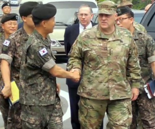 U.S. military officials in South Korea to discuss North Korea provocations