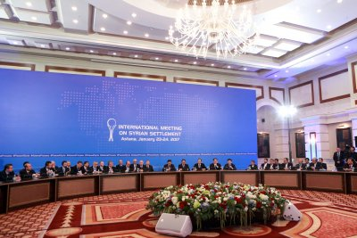 Syrian opposition suspends Astana talks over regime bombings