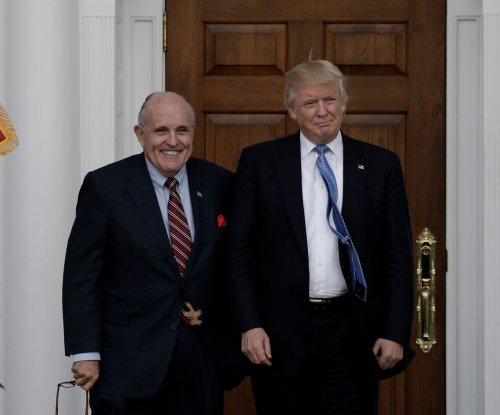 Giuliani joins Trump's legal team