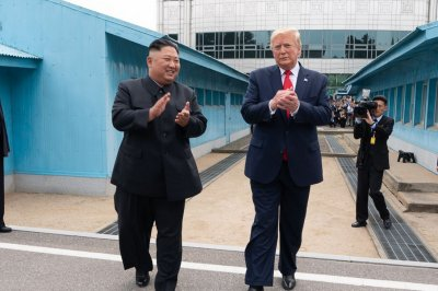 Trump: Kim's letter criticized U.S.-South Korea military exercises
