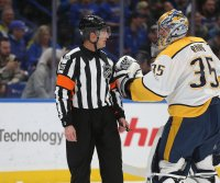 NHL bans referee Tim Peel for Nashville Predators hot mic incident