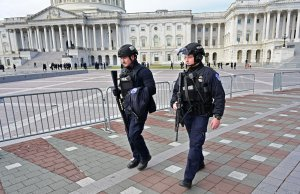 Capitol Police: Threats to Congress have increased by 107%