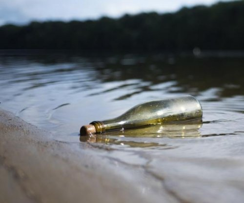 Message in a bottle travels 30 miles in just seven days