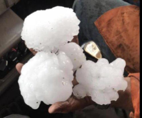 Massive hailstone smashes Australian record