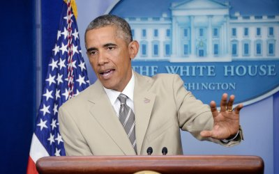 Obama speaks on Iraq, Syria, the Islamic State threat, and Ukraine