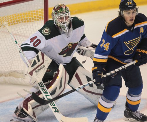 Minnesota Wild win game 1 against St. Louis Blues