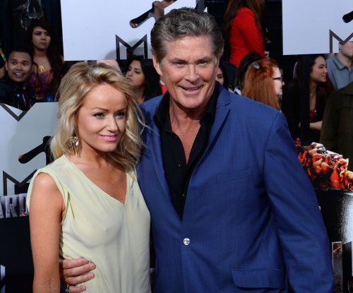 David Hasselhoff announces engagement to girlfriend Hayley Roberts