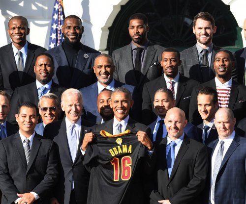 President Obama honors 2016 NBA champion Cleveland Cavaliers at White House