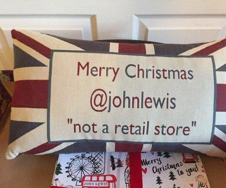 Man with same name as U.K. retail store cleverly diverts mistaken holiday tweets