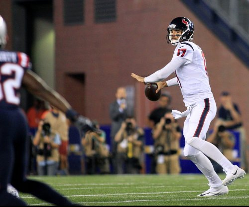 Houston Texans QB Tom Savage officially ruled out vs. Oakland Raiders