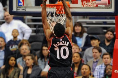 DeMar DeRozan scores 41 as Toronto Raptors top Boston Celtics