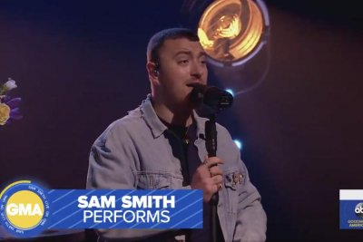 Sam Smith discusses 'Love Goes,' performs 'Diamonds' on 'GMA'
