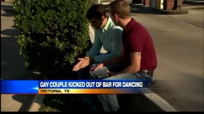 Gay couple booted from Texas country-Western club for dancing together