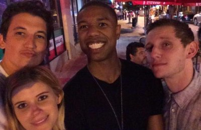 'Fantastic Four' wraps filming with Twitter selfie