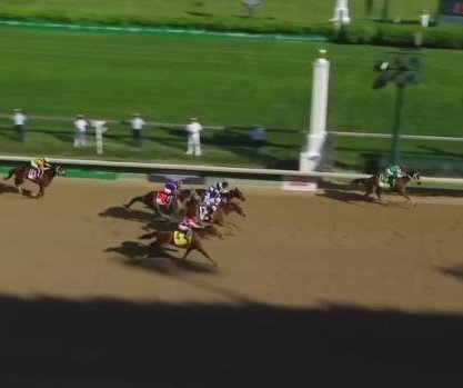 Cathryn Sophia wins Kentucky Oaks