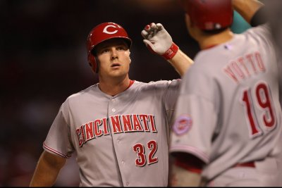 Jay Bruce becomes home run leader at Cincinnati Reds' Great American Ball Park