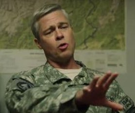 Brad Pitt appears in first teaser for 'War Machine'