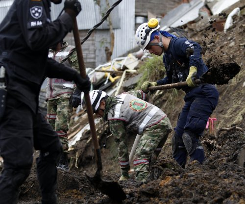 Colombian landslide kills 17, seven missing