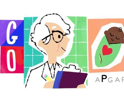Google honors Apgar score inventor Dr. Virginia Apgar